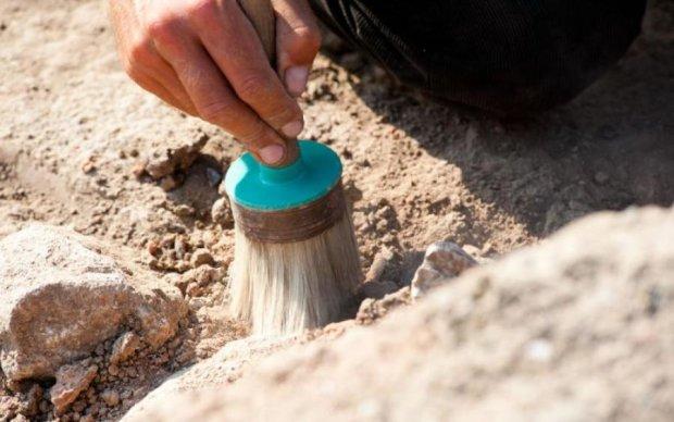 Курган посреди огорода раскопали на Харьковщине