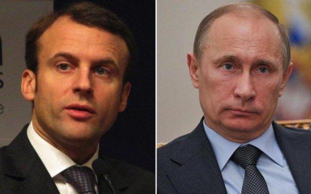 Путин и Макрон нащупают болевые точки