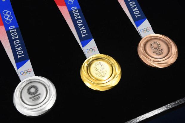 Медалі літніх Олімпійських ігор-2020 в Токіо, Getty Images