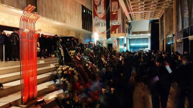 В Харькове начали прощание с мэром, фото: Pavlovsky News