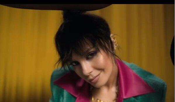 Настя Каменских, скриншот из видео