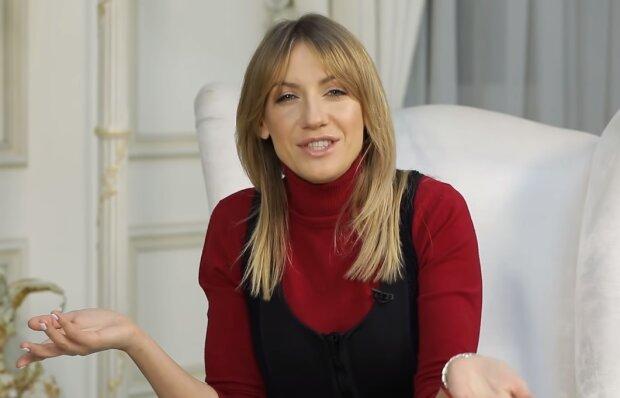 Леся Никитюк, скрин из видео