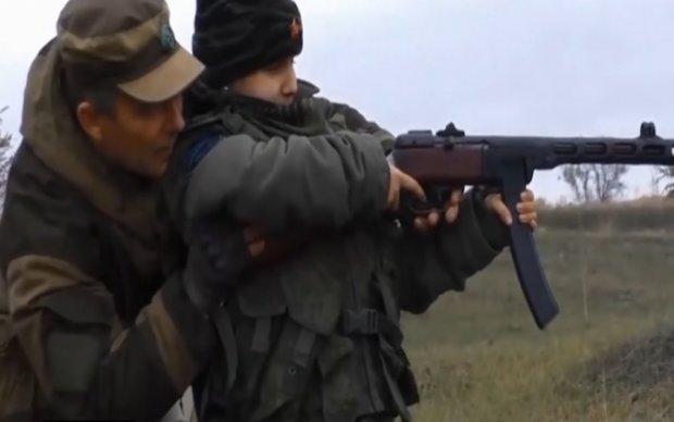 """Бойовики готують дітей на """"гарматне м'ясо"""": опубліковано відео"""