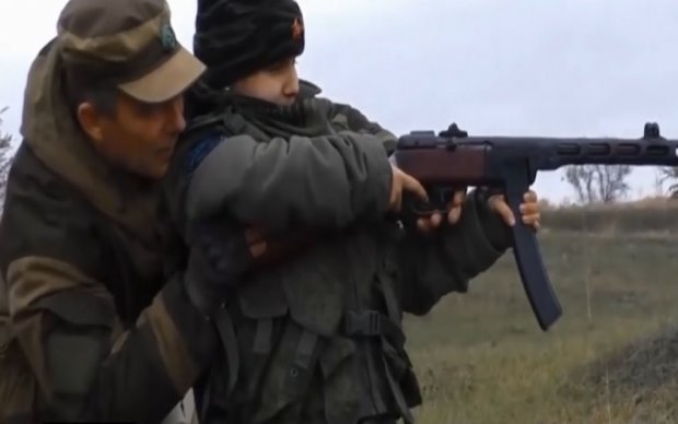 "Боевики готовят детей на ""пушечное мясо"": опубликовано видео"