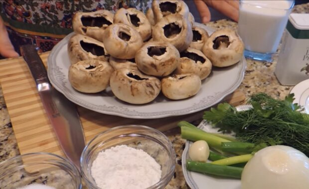 Жульєн з грибами, скріншот: YouTube