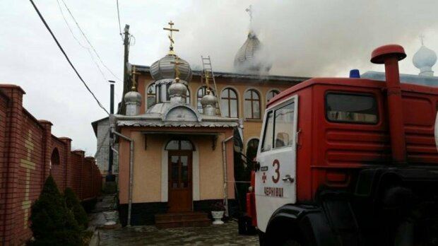 Зловісний знак: під Івано-Франківськом спалахнув монастир, Бог не допоміг