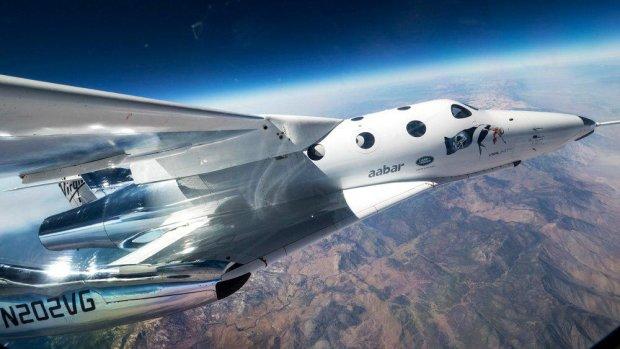 Virgin Galactic успішно відправила SpaceShipTwo у космос: відео
