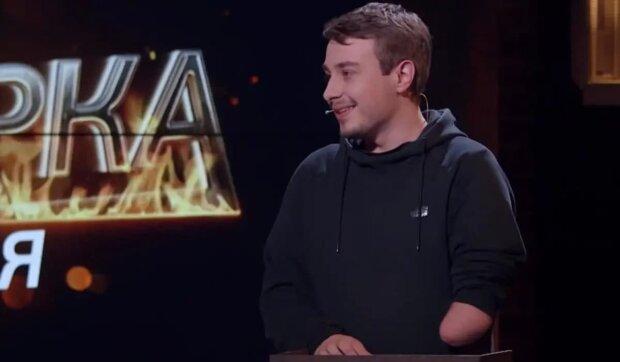 Сергій Детков, скріншот з відео
