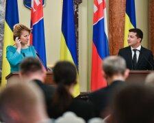 Зеленський розраховує на підтримку Словаччини