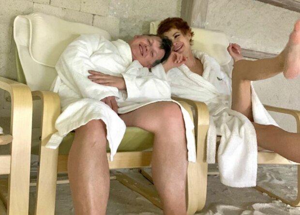 Павел Розенко и Елена-Кристина Лебедь, фото Instagram