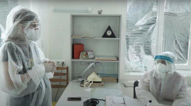 Врачи, скриншот из видео