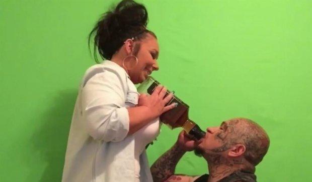 Техасец выпил залпом два литра виски