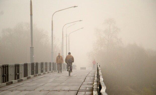 """Дніпро огорне густий туман, доведеться ходити """"навпомацки"""": синоптики попередили про найстрашніше"""