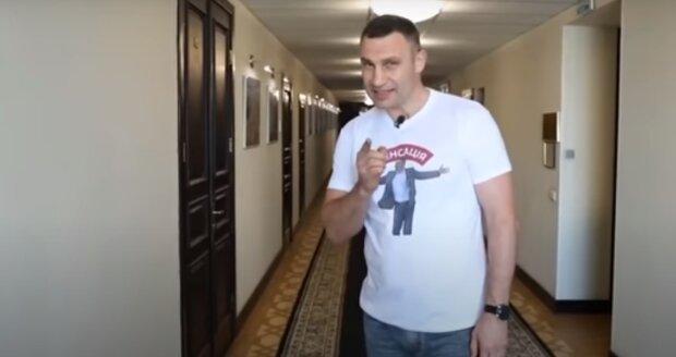 Выборы мэра Киева 2020: Виталий Кличко, скрин - YouTube