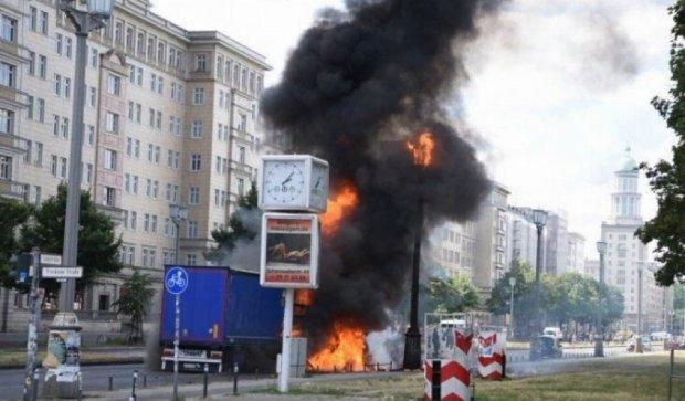 Мощный взрыв прогремел в Берлине