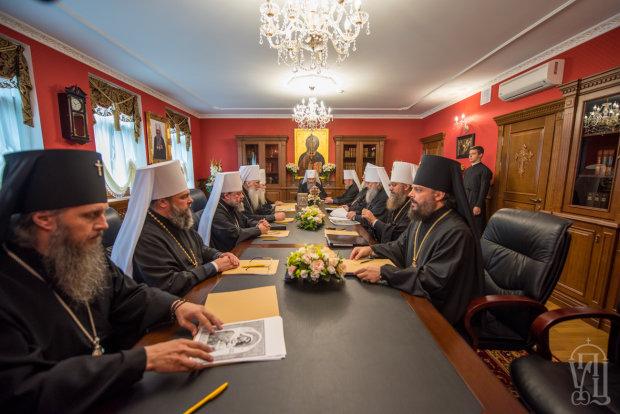 засідання священного синоду УПЦ МП