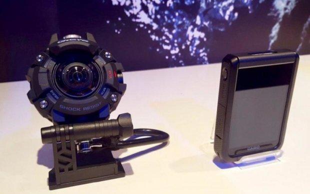 Casio скрестила часы с видеокамерой, и вот что из этого получилось