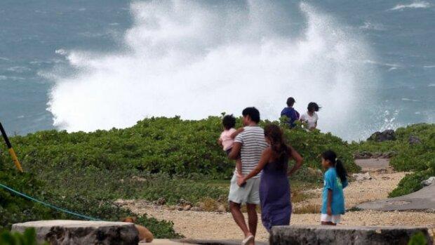 Тайфун, фото ВВС