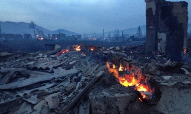 У селах Сибіру - масові пожежі з людськими жертвами