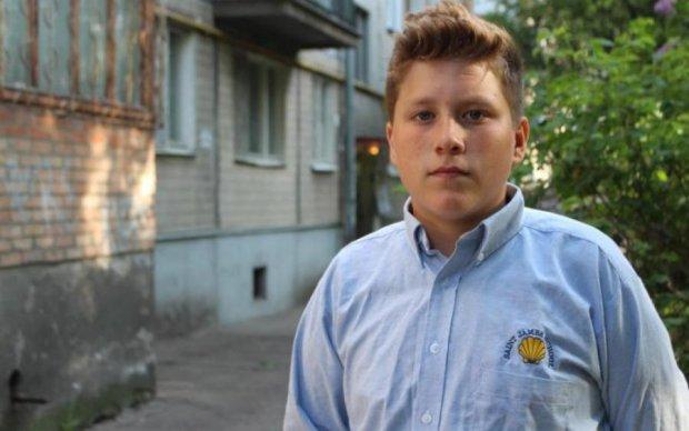 Маленький герой спас киевлян с горящей пятиэтажки