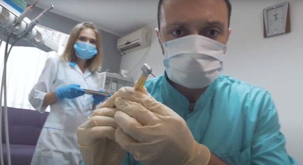 Стоматолог, скриншот: Youtube