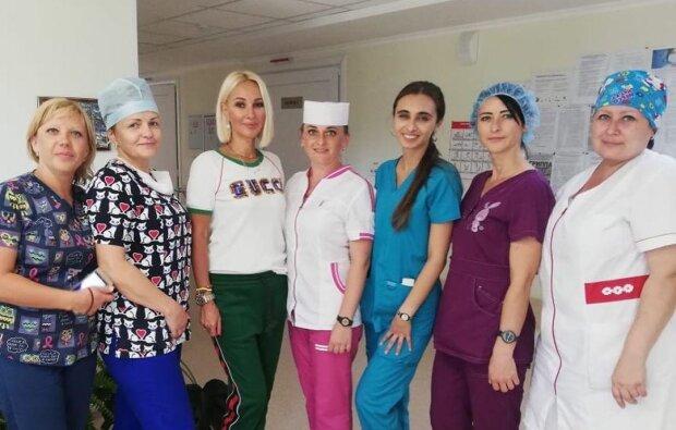 Лера Кудрявцева в больнице, фото с Instagram
