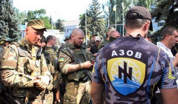"""Полк """"Азов"""" заблокували у Facebook"""