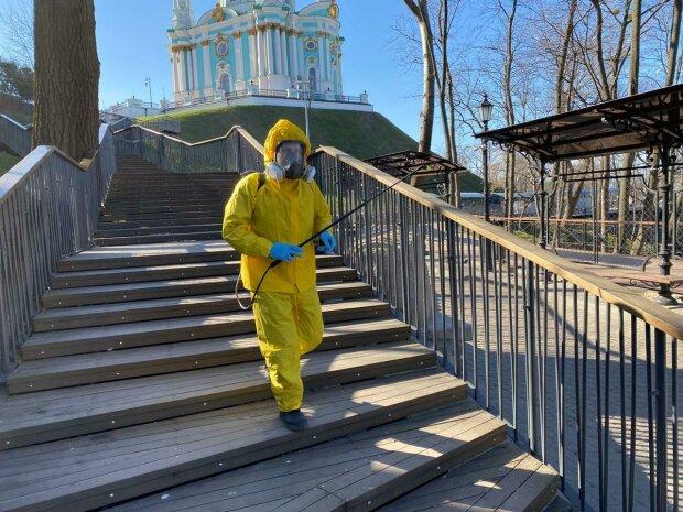 коронавірус в Україні, фото з сайту КМДА