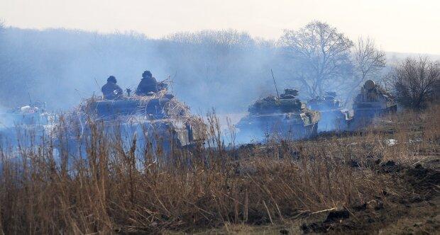 украинские военные, фото с Facebook