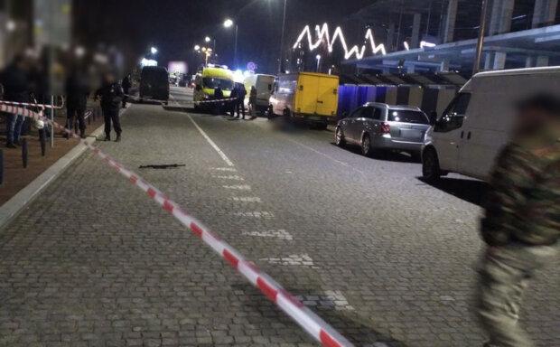 Стрельба в центре Калининграда, фото с росСМИ