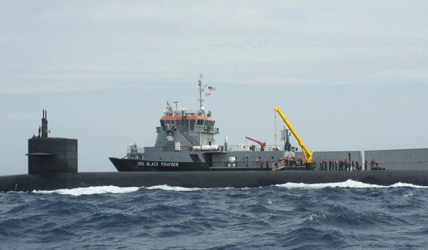 США расположили подводную лодку с ядерными ракетами в Европе