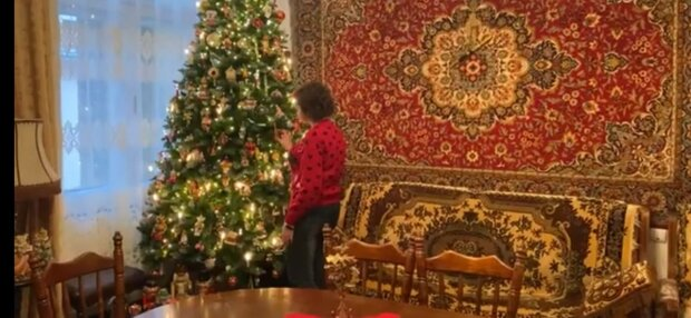 Ялинка, фото: скріншот з відео
