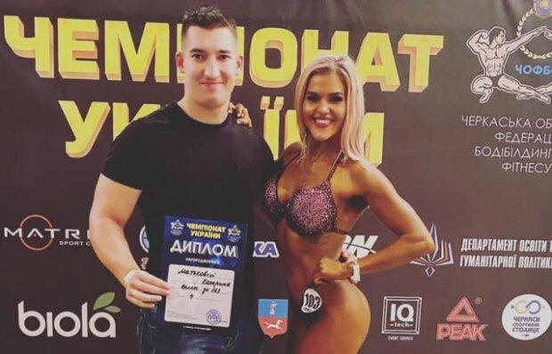 Мукачівка Катерина Матьковскі виборола 4 місце на Чемпіонаті України з бодібілдінгу