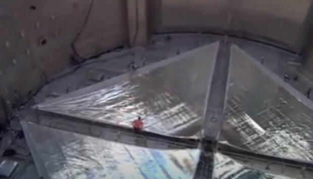 Advanced Composite Solar Sail System, скриншот: YouTube