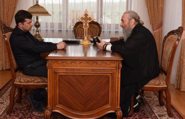 зустріч Зеленського з митрополитом Онуфрієм