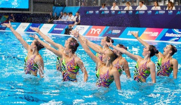 Українські синхроністки завоювали два золота на змаганнях у Греції