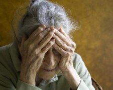 Пенсіонерка, фото із вільних джерел