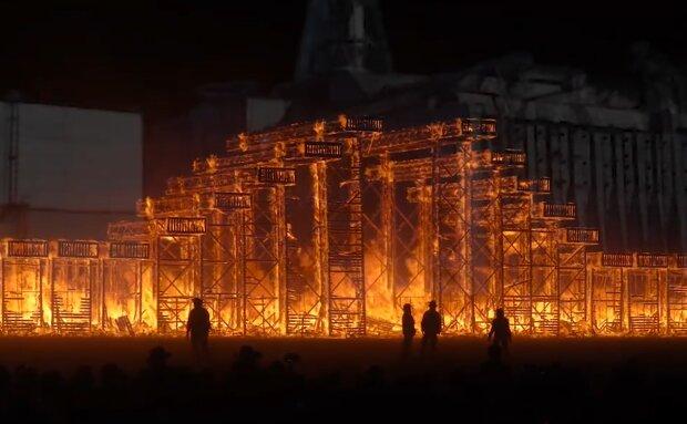 кадр з фільму ″Артефакт Чорнобиля″, скрін