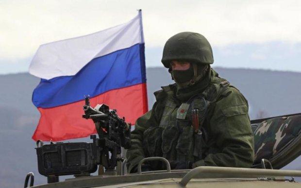 Путінський вояка підсмажив собі БТР на обід