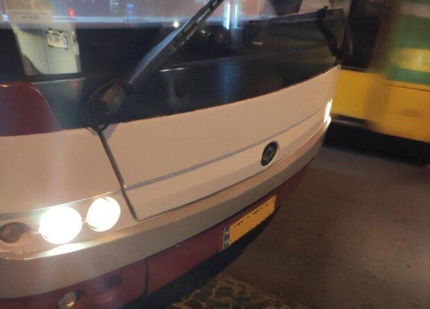 Автобус в Івано-Франківську, фото: Facebook Надія Михайлівна