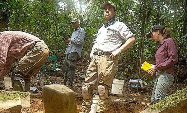 Исследование джунглей, скриншот с видео