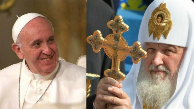 Папа Римський анонсував історичну зустріч із патріархом Кирилом