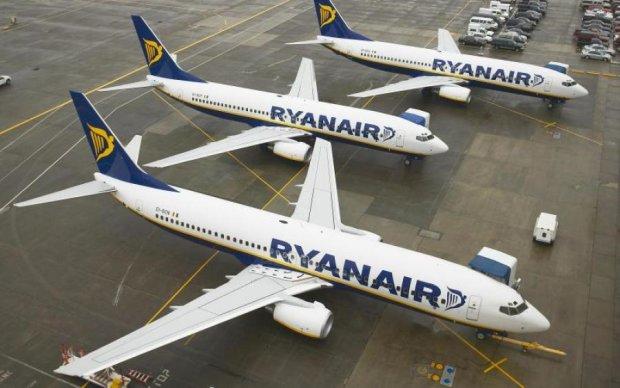 Лоукост Ryanair відмовився від України: названа причина