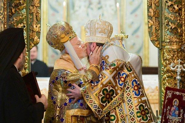 Церемонія отримання Україною Томосу про автокефалію