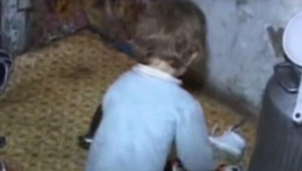 Ребенок, скриншот: Youtube