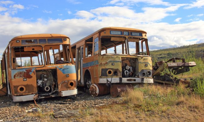 """У Прибалтиці знайшли унікальний львівський автобус: """"Їх вже практично не залишилося"""", фото"""