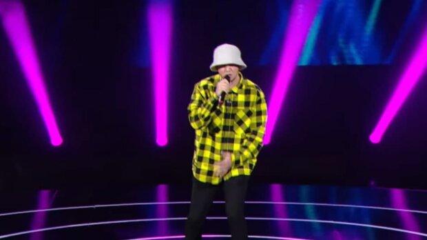 Тьома Паучек, Голос країни, скріншот з відео