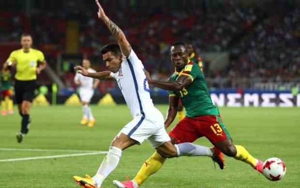 Камерун - Чилі 0:2 Відео голів та огляд матчу Кубку конфедерацій