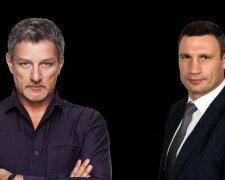 Андрей Пальчевский и Виталий Кличко