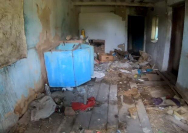 Заброшенное село, скриншот видео